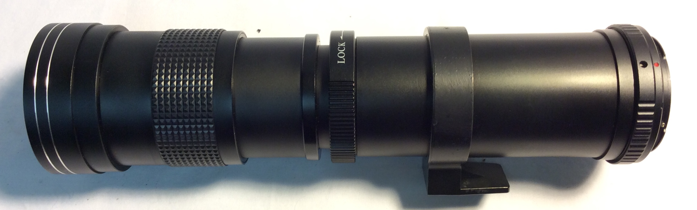 Opteka 420-800mm Super telephoto