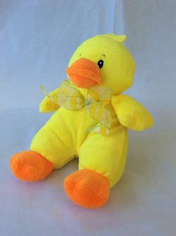 Yellow duck stuffed animal
