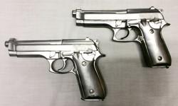 Soft Silver Berettas