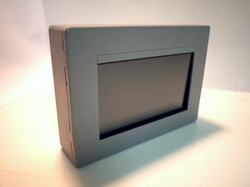 Touchscreen wall panel