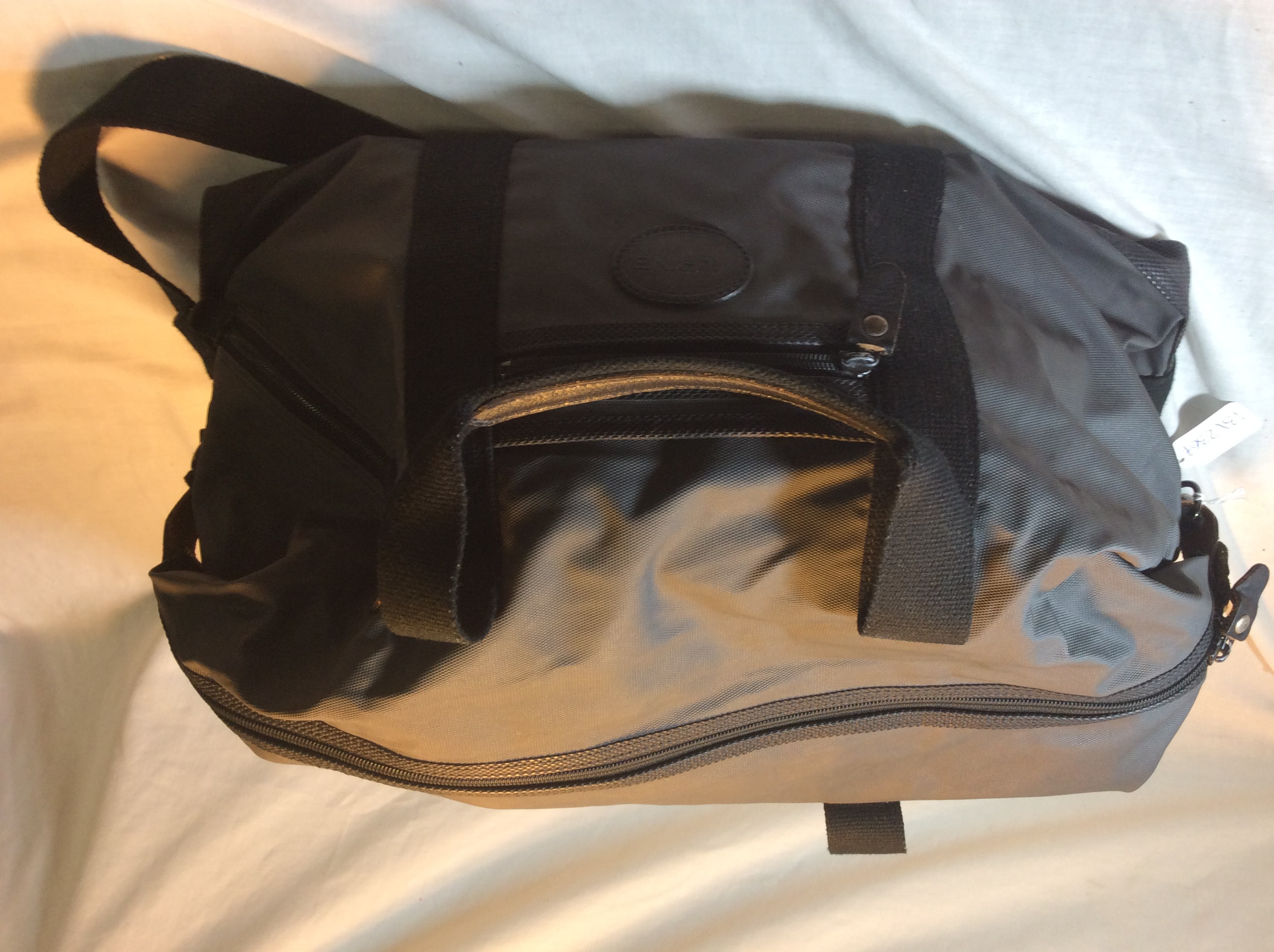 Small Black Overnight Bag