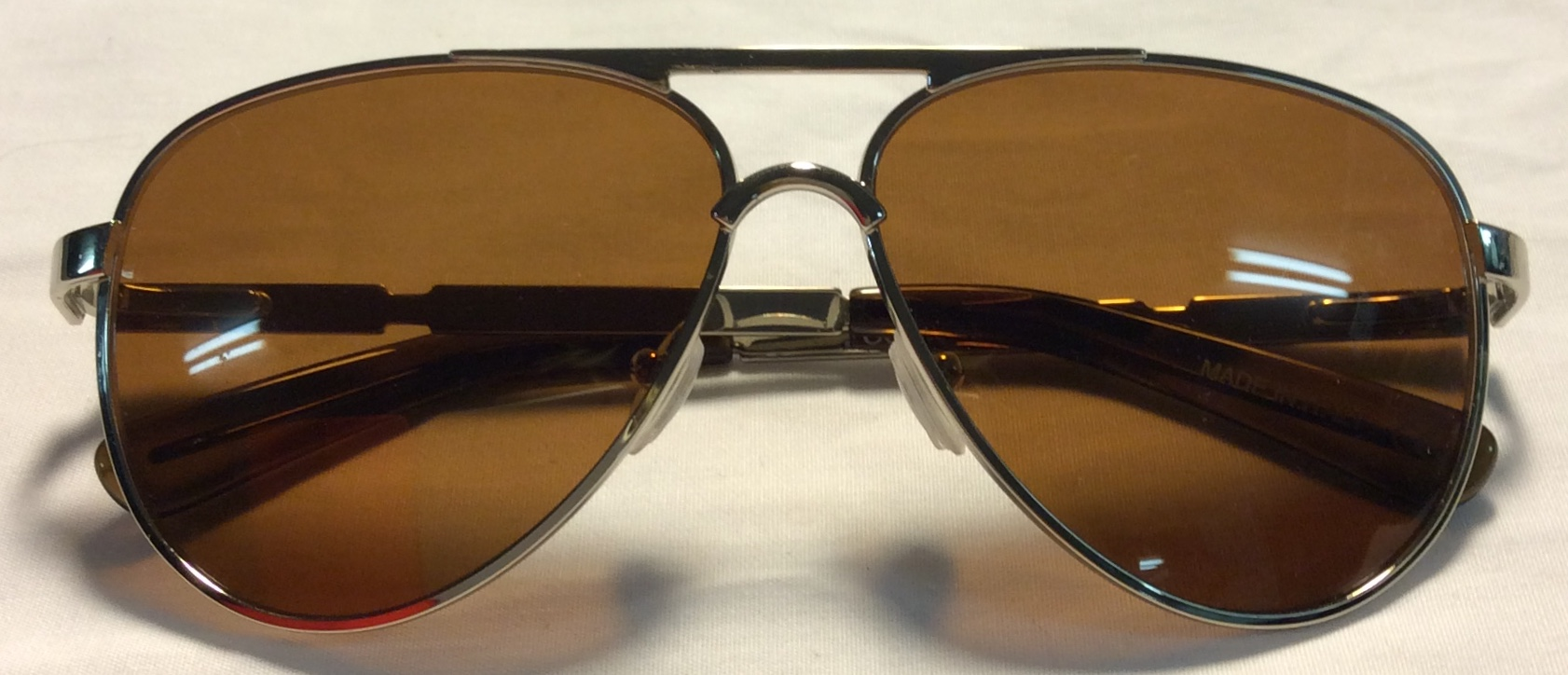 Initium Silver metal frames, brown