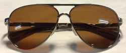 Initium Silver metal frames, brown
