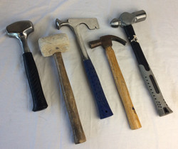 Various Hammers, Modern and Old