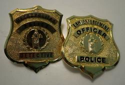 Gold Sheild Badges
