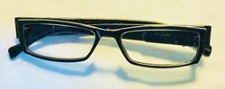Dark Square rimmed eyeglasses