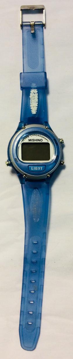 Mishino Digital face, light blue