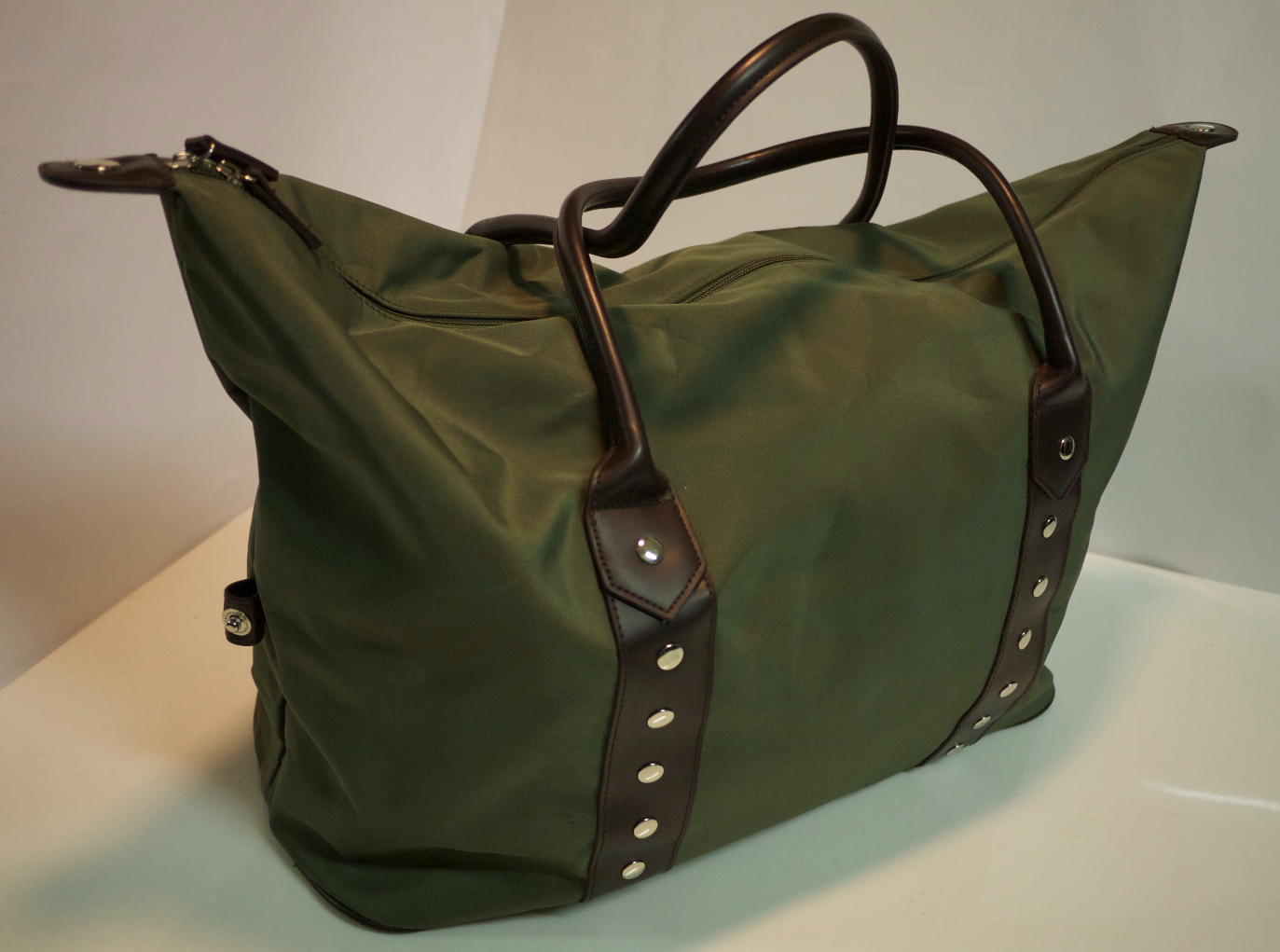 Forest green lg. bag