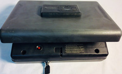 Hornady Gun safe with keys and digital lock.