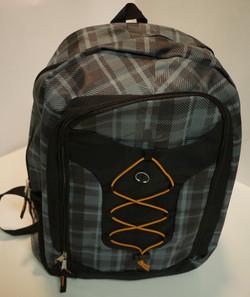 Grey/Black backpack