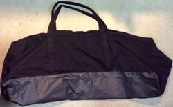 Military weapons duffle bag in black