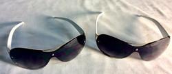 White and silver sunglasses