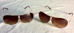 Bronze tinted sunglasses