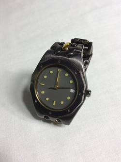 MC Silver and Gold Watch