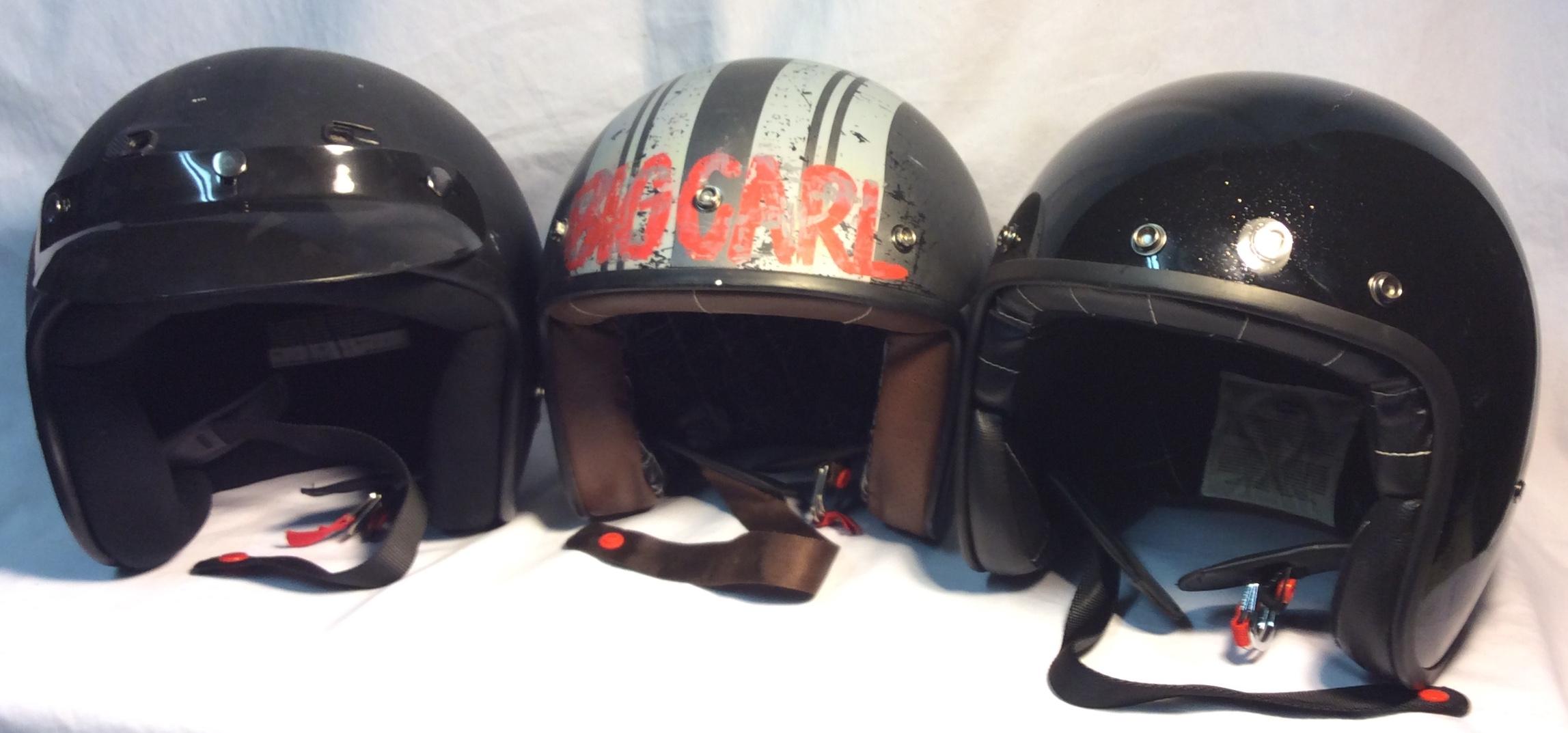 Motorcycle Helmets (Various Styles)