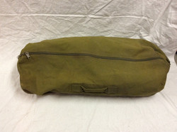Yellow-Green Army Duffel Bag