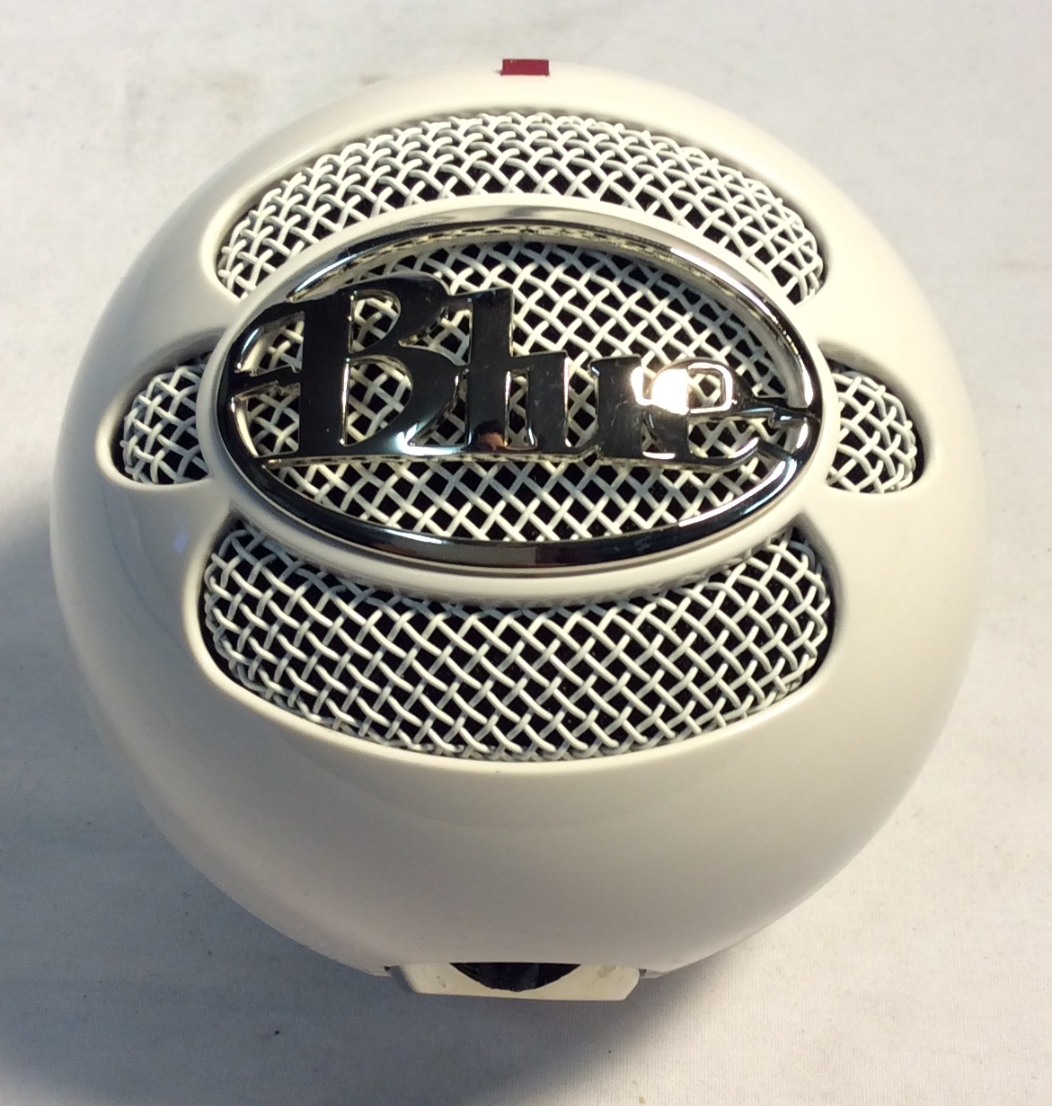 Snowball Ice Podcast microphone