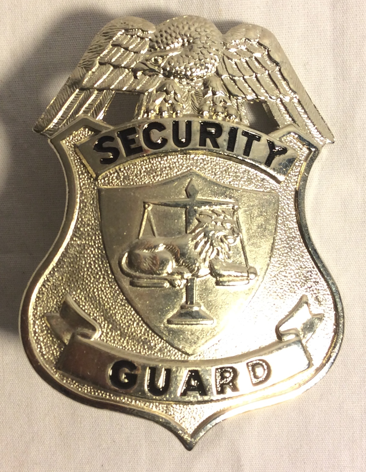 Security Hat Badges