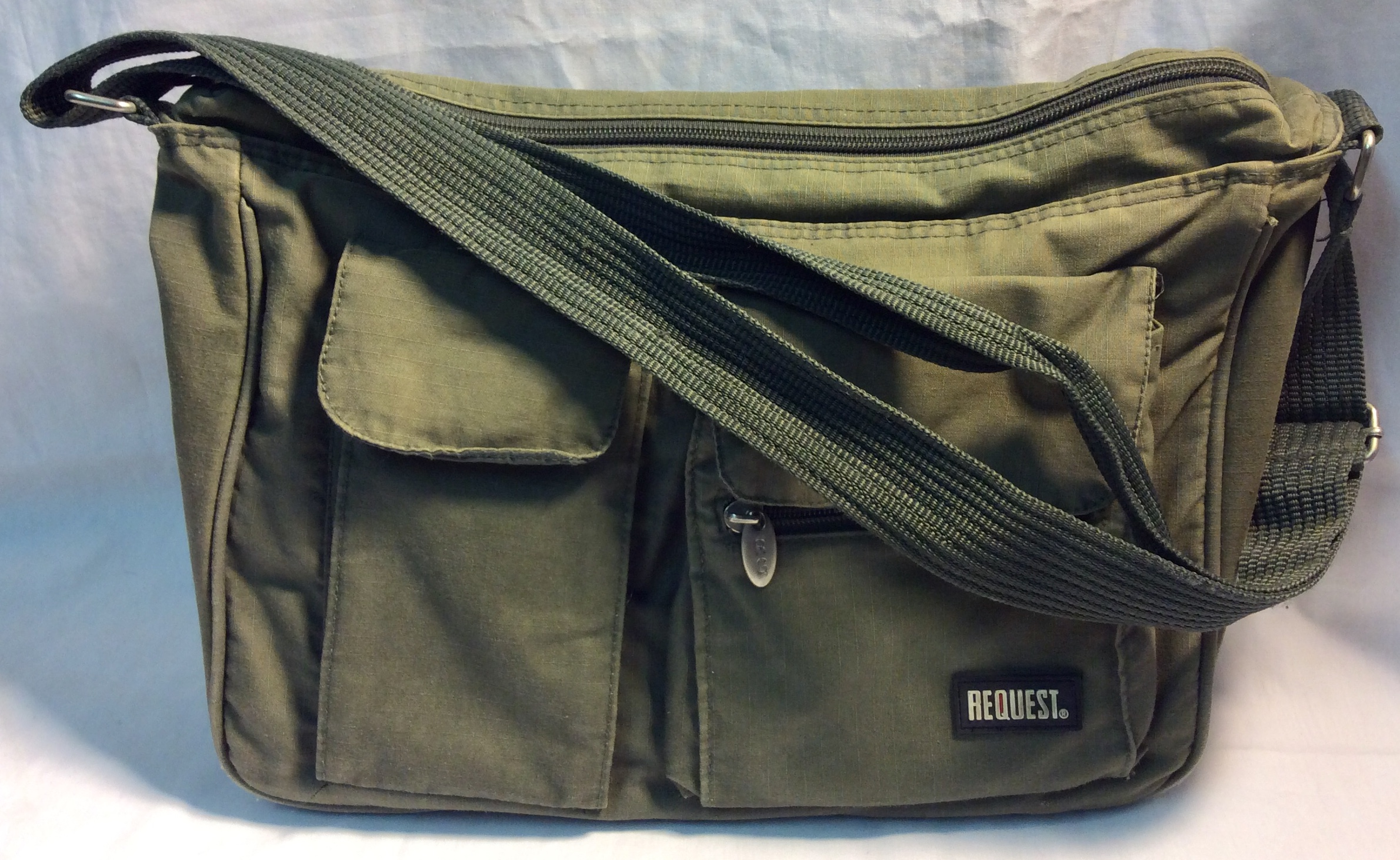 Request Army green fabric