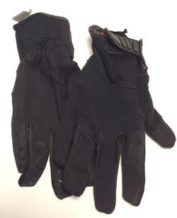 HWI Black kevlar palm duty glove