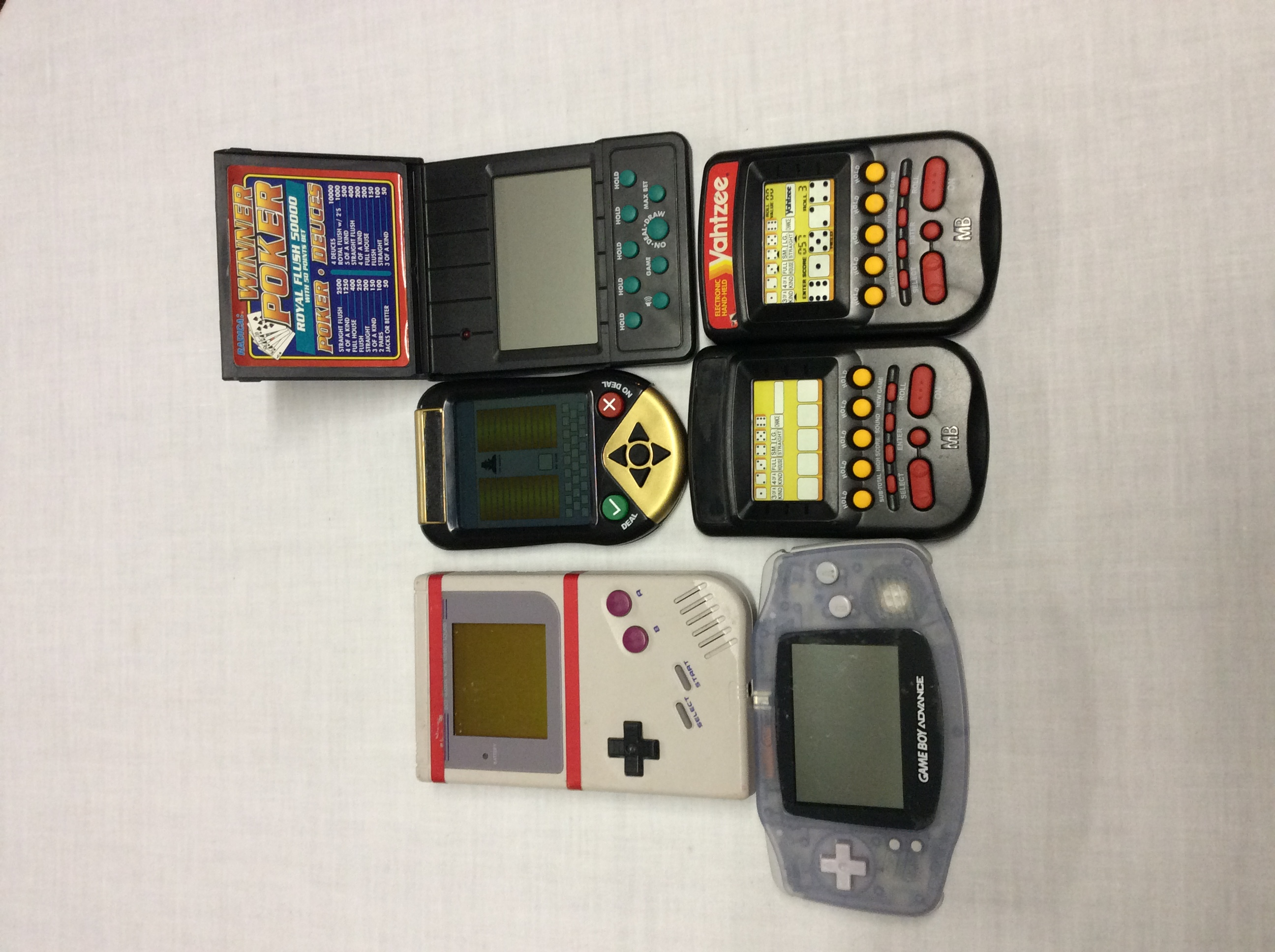 Handheld video games consoles