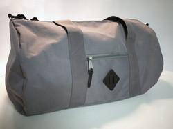 Grey Duffle Bag