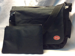 Bily Black fabric shoulder bag
