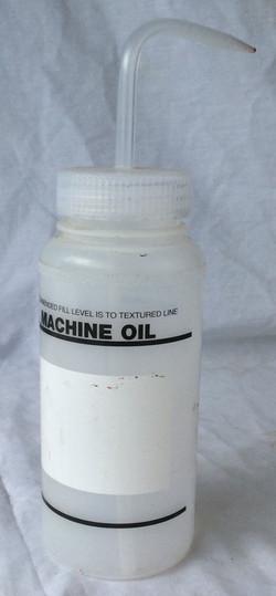 Machine Oil bottle (empty)
