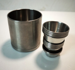 Metal Cups and Canisters