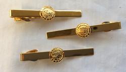 Gold Alaska State Trooper Clips