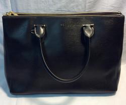 Ralph Lauren Black leather purse