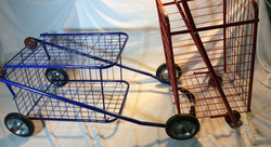 Metal Folding Shopping Cart