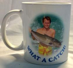 What a catch novelty mug