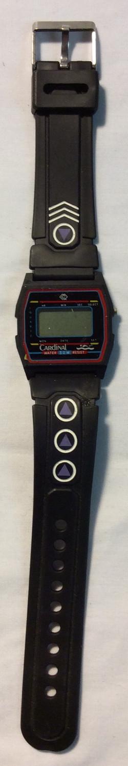 Cardinal Digital face, black rubber