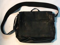 KennethCole - black leather shoulder