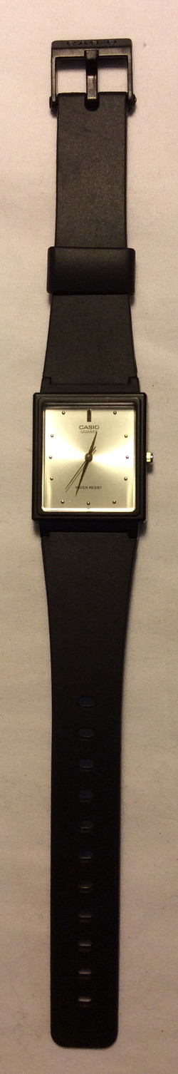 Casio watch - square white face
