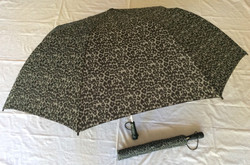 Grey and Black leopard pattern