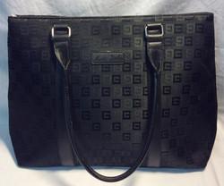 Moda Italia Black patterened purse