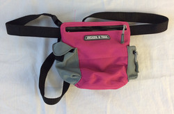 Arcadia Trail Pink fanny pack with side pockets