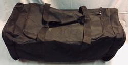 Large black Polyethylene foam duffel