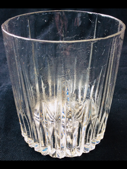 Whiskey glasses (ribbed pattern)