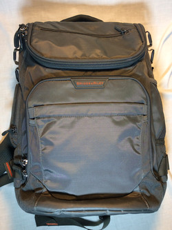 Briggs and Riley Grey backpack