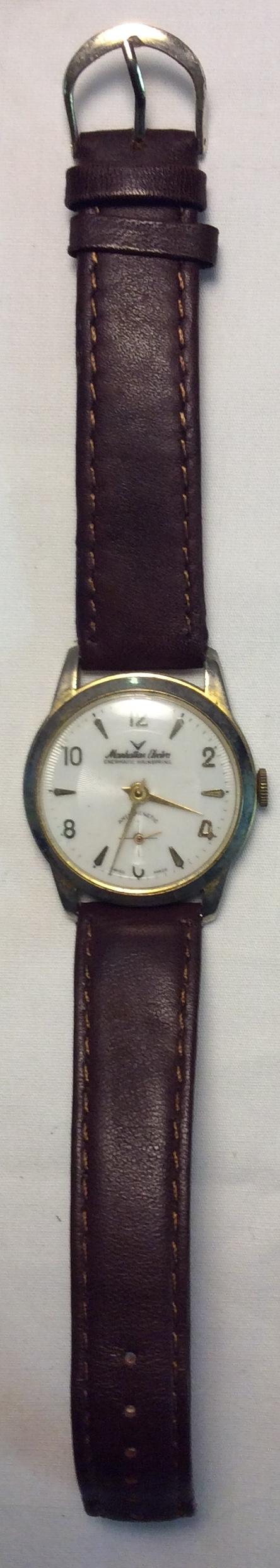 Manhattan Electra watch - round