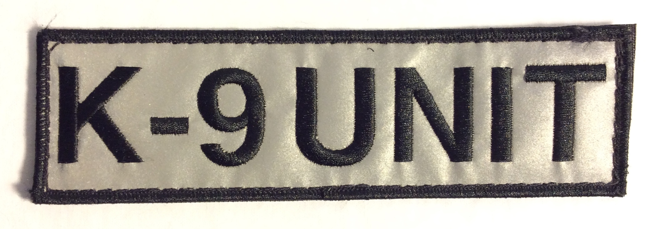 K-9 Unit Velcro Patches