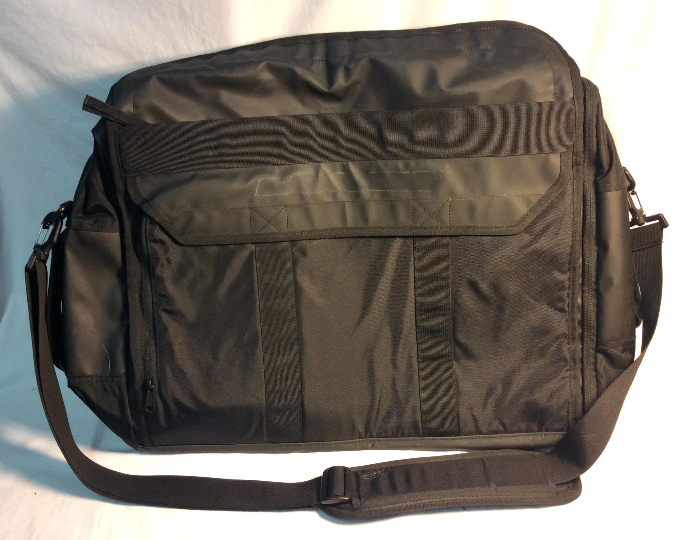 Big black greeked side bag
