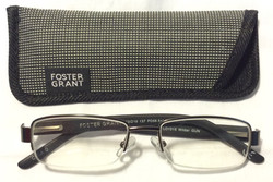 Foster Grant Dark grey plastic frame