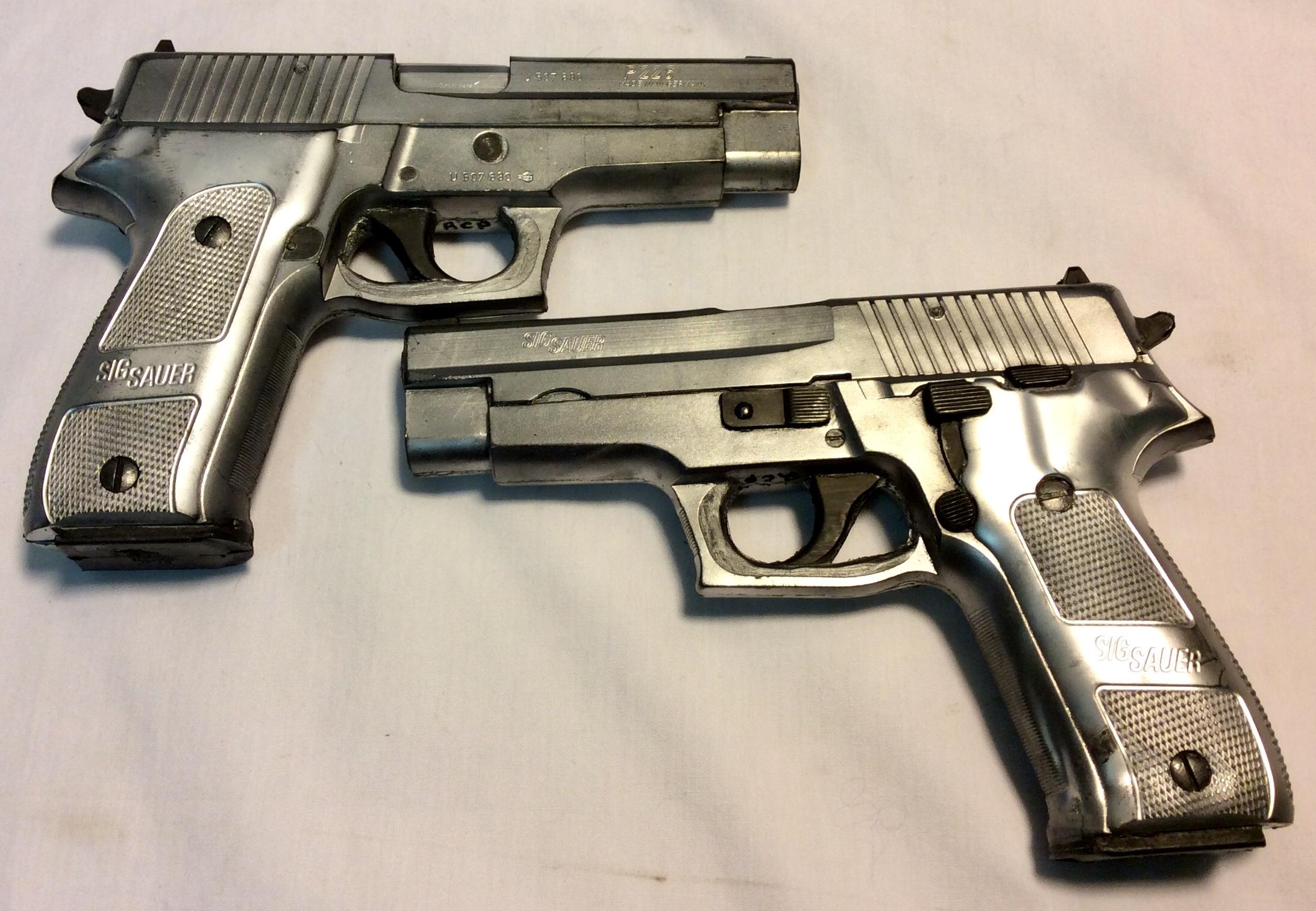 Soft silver Sig Sauer P226