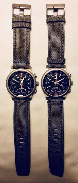 Compass dial watch