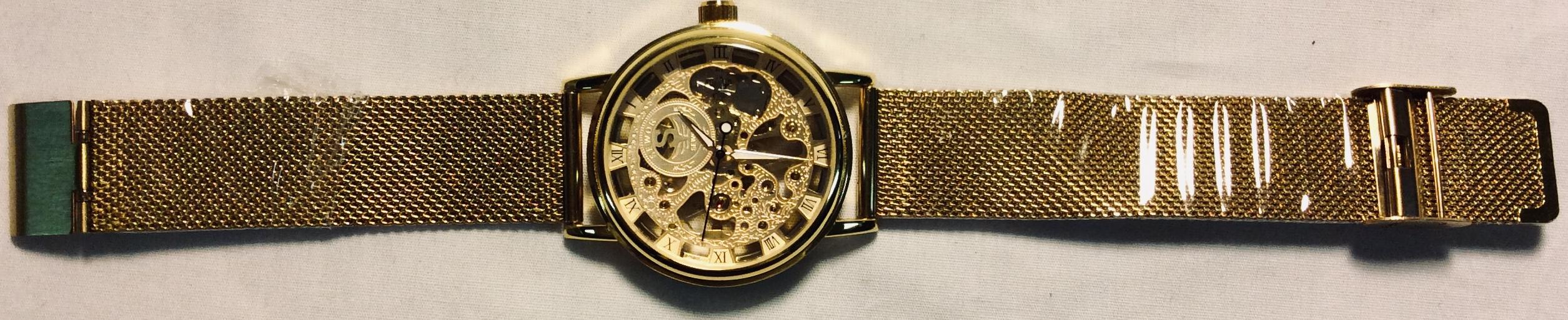 Sewor Gold metal casing, large gold