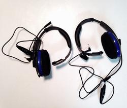 Blue Single Sided Headset
